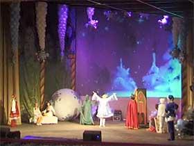 Спектакль - Новогодняя сказка Емелины проказы